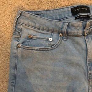 PACSUN 2019 light wash Skinny Jeans